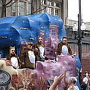 New Orleans - Mardi Gras Parades - 1212118 Art Print