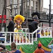 New Orleans - Mardi Gras Parades - 1212120 Art Print