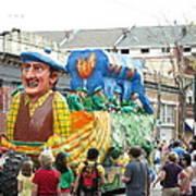 New Orleans - Mardi Gras Parades - 1212126 Art Print