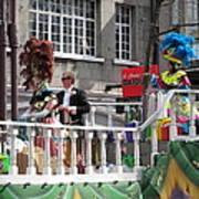 New Orleans - Mardi Gras Parades - 1212144 Art Print