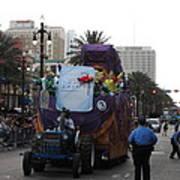 New Orleans - Mardi Gras Parades - 121226 Art Print