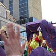 New Orleans - Mardi Gras Parades - 121229 Art Print