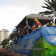 New Orleans - Mardi Gras Parades - 121238 Art Print