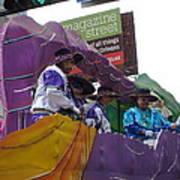 New Orleans - Mardi Gras Parades - 12124 Art Print