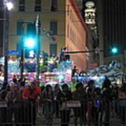 New Orleans - Mardi Gras Parades - 121241 Art Print