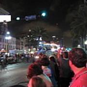 New Orleans - Mardi Gras Parades - 121243 Art Print