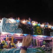 New Orleans - Mardi Gras Parades - 121245 Art Print