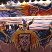 New Orleans - Mardi Gras Parades - 121251 Art Print