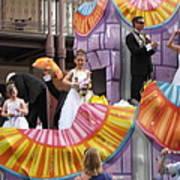 New Orleans - Mardi Gras Parades - 121267 Art Print