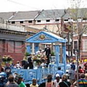 New Orleans - Mardi Gras Parades - 121270 Art Print
