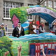 New Orleans - Mardi Gras Parades - 121279 Art Print