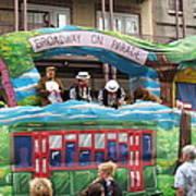 New Orleans - Mardi Gras Parades - 121282 Art Print