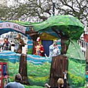 New Orleans - Mardi Gras Parades - 121283 Art Print