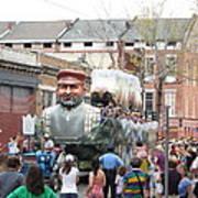 New Orleans - Mardi Gras Parades - 121285 Art Print