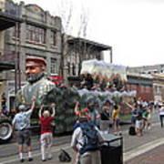 New Orleans - Mardi Gras Parades - 121286 Art Print