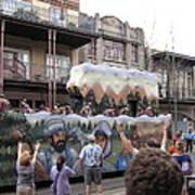 New Orleans - Mardi Gras Parades - 121287 Art Print