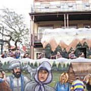 New Orleans - Mardi Gras Parades - 121288 Art Print