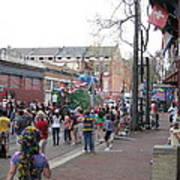 New Orleans - Mardi Gras Parades - 121290 Art Print