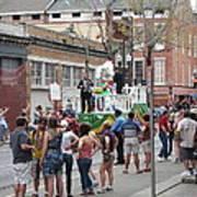 New Orleans - Mardi Gras Parades - 121295 Art Print