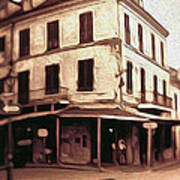 New Orleans - Old Absinthe Bar Art Print