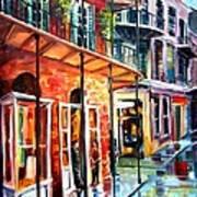 New Orleans Rainy Day Art Print
