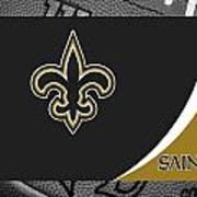 New Orleans Saints Art Print