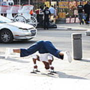 New Orleans - Street Performers - 121211 Art Print