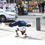 New Orleans - Street Performers - 121212 Art Print