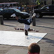 New Orleans - Street Performers - 121218 Art Print