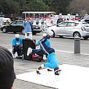 New Orleans - Street Performers - 121223 Art Print