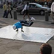 New Orleans - Street Performers - 121227 Art Print