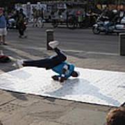 New Orleans - Street Performers - 121230 Art Print