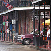 New Orleans Street Scene Art Print