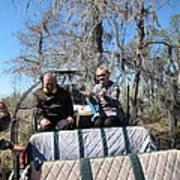 New Orleans - Swamp Boat Ride - 1212103 Art Print
