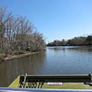 New Orleans - Swamp Boat Ride - 121270 Art Print