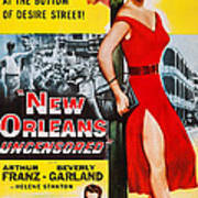 New Orleans Uncensored, Us Poster, Top Art Print