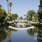 New Photographic Art Print For Sale Canals Of Venice California Art Print