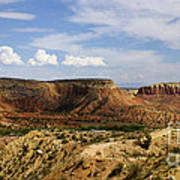 Ghost Ranch Landscape New Mexico 12 Art Print
