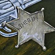 New Sheriff  In Town  Art Print