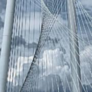 New Skyline Bridge Art Print