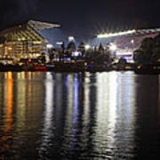 New Husky Stadium Reflection Art Print
