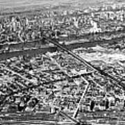 New York 1937 Aerial View  Art Print