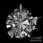 New York 2 Circagraph Art Print
