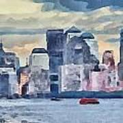 New York 7 Art Print by Yury Malkov