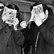 New York Arrest, 1968 Art Print