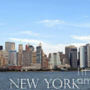 New York As I Saw It In 2008 Art Print