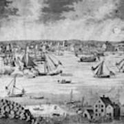 New York City, 1717 Art Print