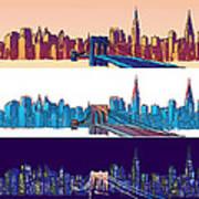 New York City - All Day Art Print
