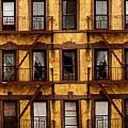 New York City Apartment Building Study Art Print
