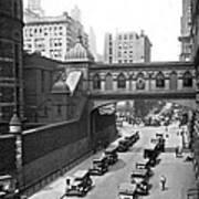 New York City Bridge Of Sighs Art Print